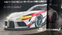 Toyota Supra Magazine Leak
