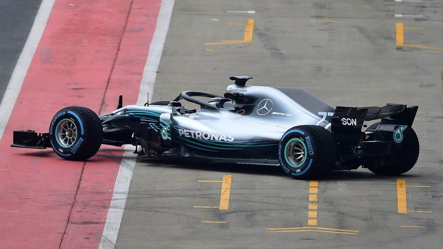 First Image Of New Mercedes W09 F1 Car Revealed