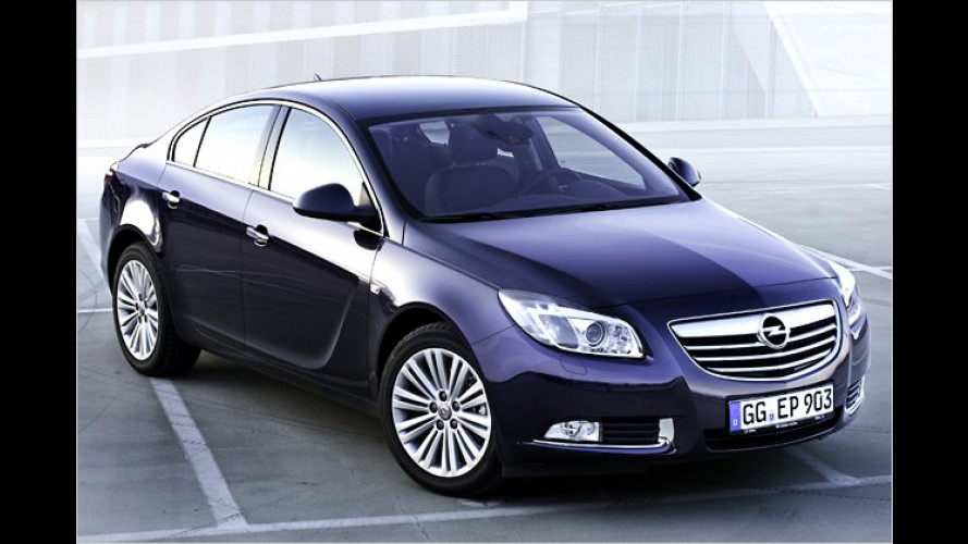 Opel Insignia: Im Modelljahr 2012 sparsamer und stärker