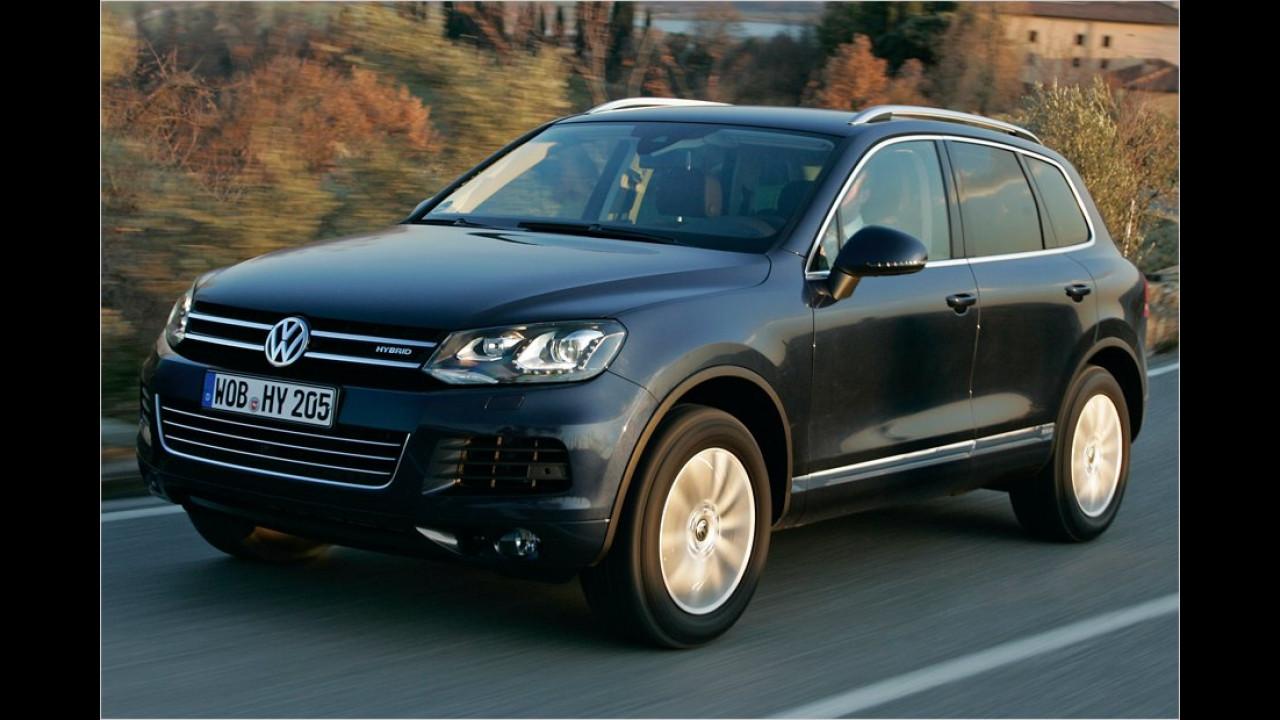 VW Touareg V6 TSI Hybrid Tiptronic