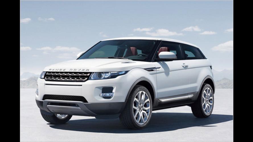 Range Rover Evoque: Erste Bilder der Serienversion