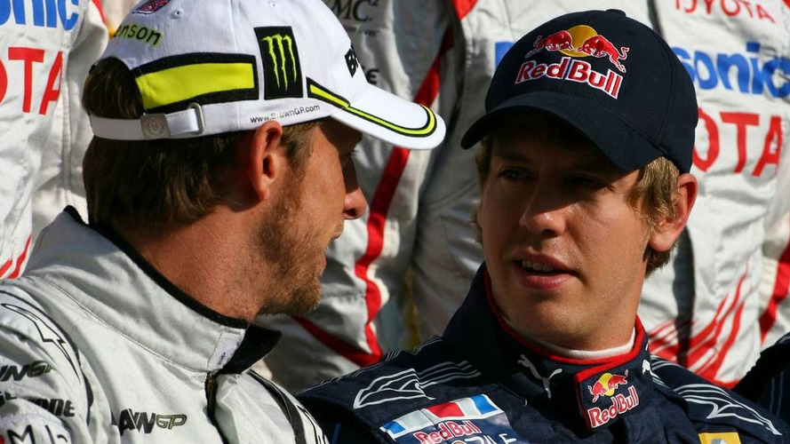 Vettel too young for title in 2009 - Button