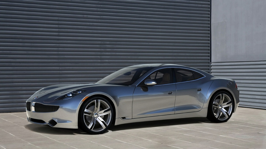 Fisker Karma shows its face