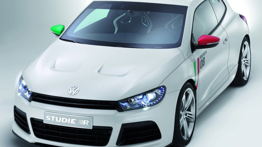 VW Scirocco Study R revealed in Bologna