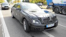 2012 Mercedes-Benz S-Class mule-prototype spy photo 28.10.2010