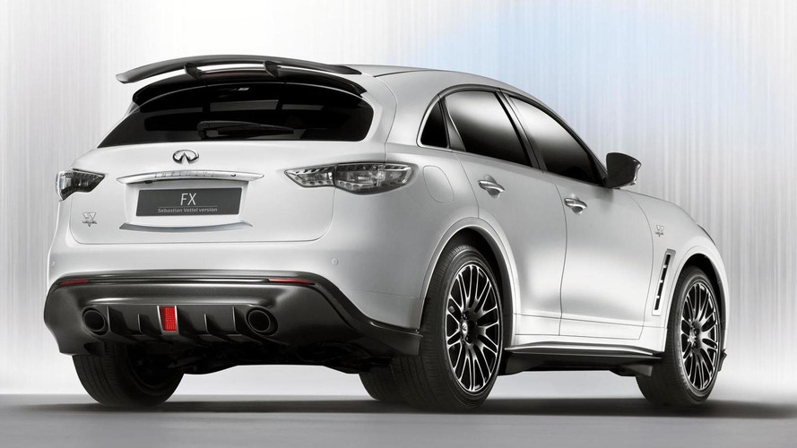Infiniti FX Sebastian Vettel Edition officially confirmed for production
