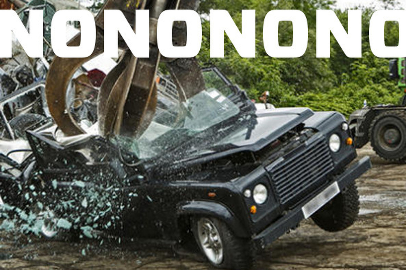 Rule Keeping Cool Cars out of US Just Killed a Land Rover