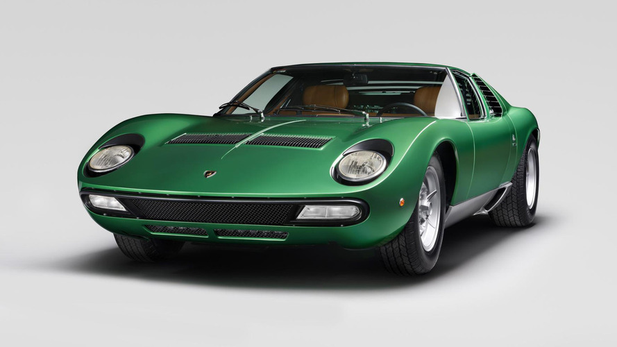 Lamborghini restores the orginal 1971 Miura SV