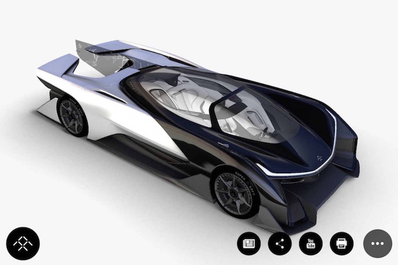 Could This Be Faraday Future's Mysterious, 1,000HP Self-Driving Car?