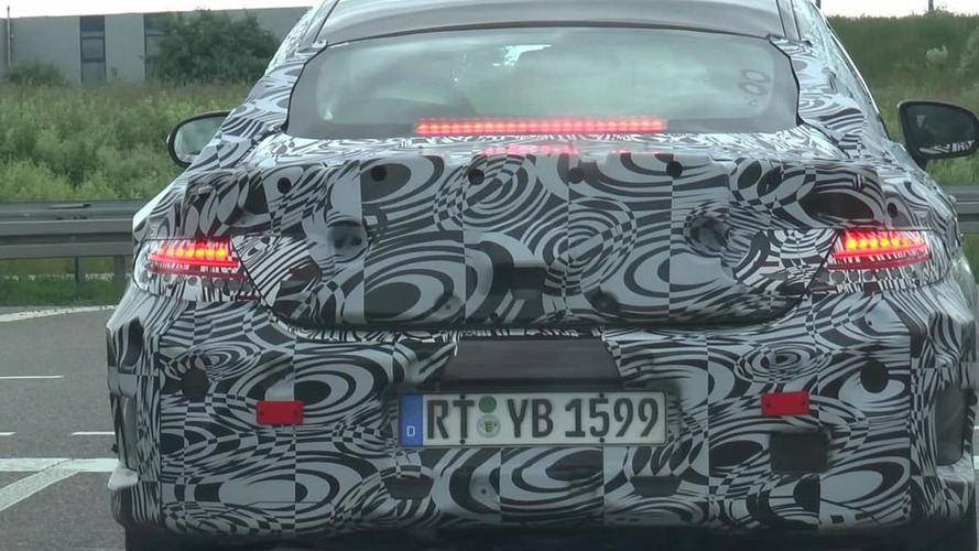 Mercedes-Benz C-Class Coupe spotted in motion on public roads [video]