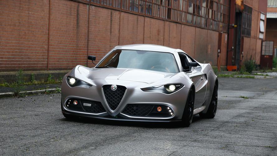 Alfa Romeo Mole Costruzione Artigianale 001, la 4C di Up Design