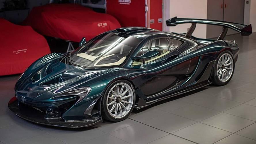 Lanzante'nin McLaren P1 GT'si Goodwood'da ortaya çıktı