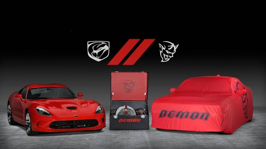 Final Dodge Demon, Viper Head To Auction As A Pair