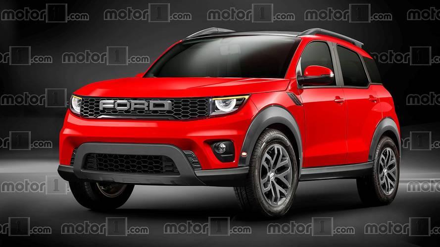 Ford Maverick 2020 - Projeção