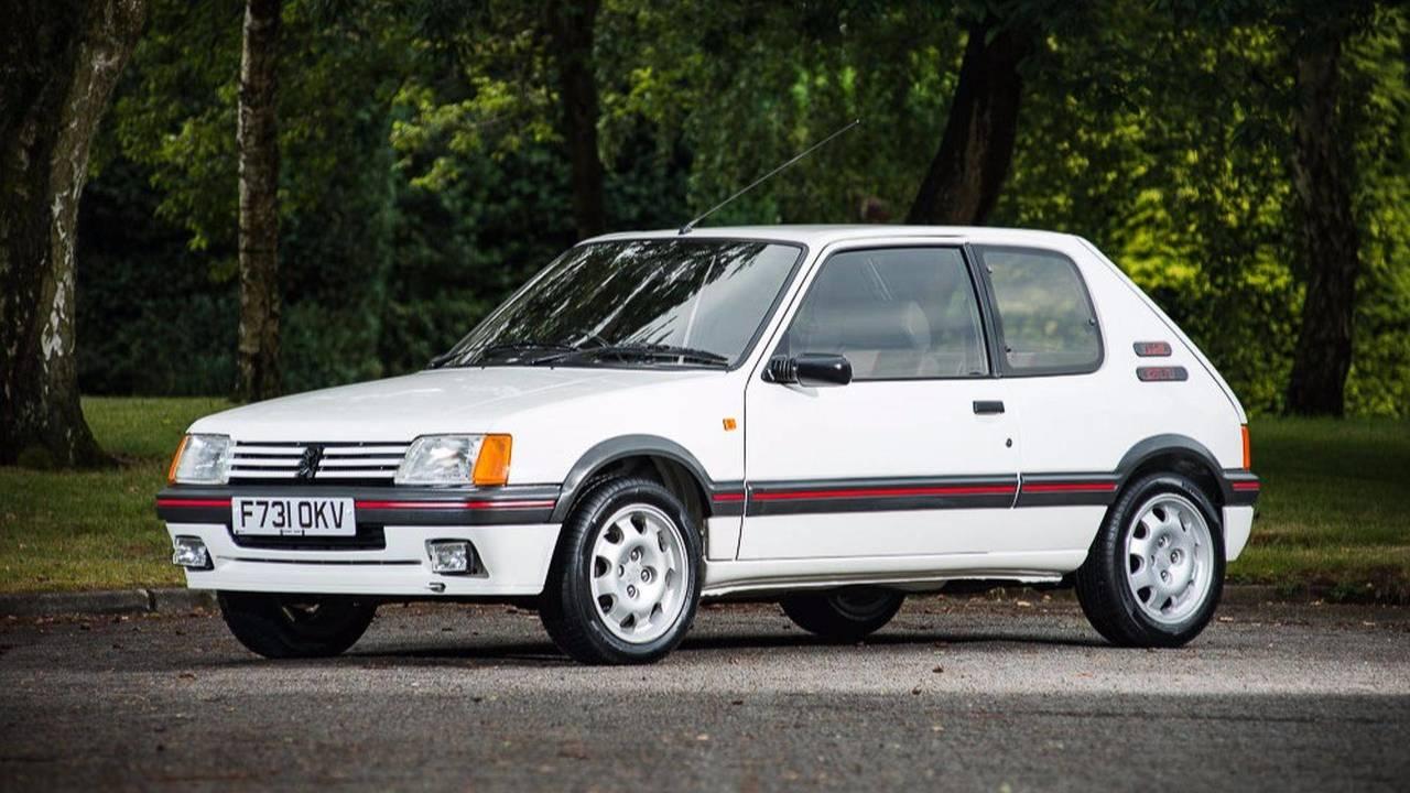 Peugeot 205 GTi: objetivo de los coleccionistas