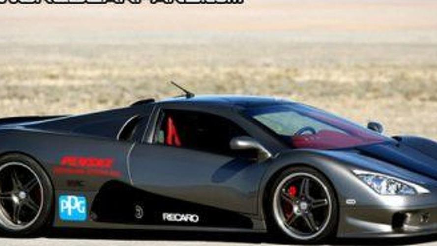 SSC Ultimate Aero TT Still Behind Veyron
