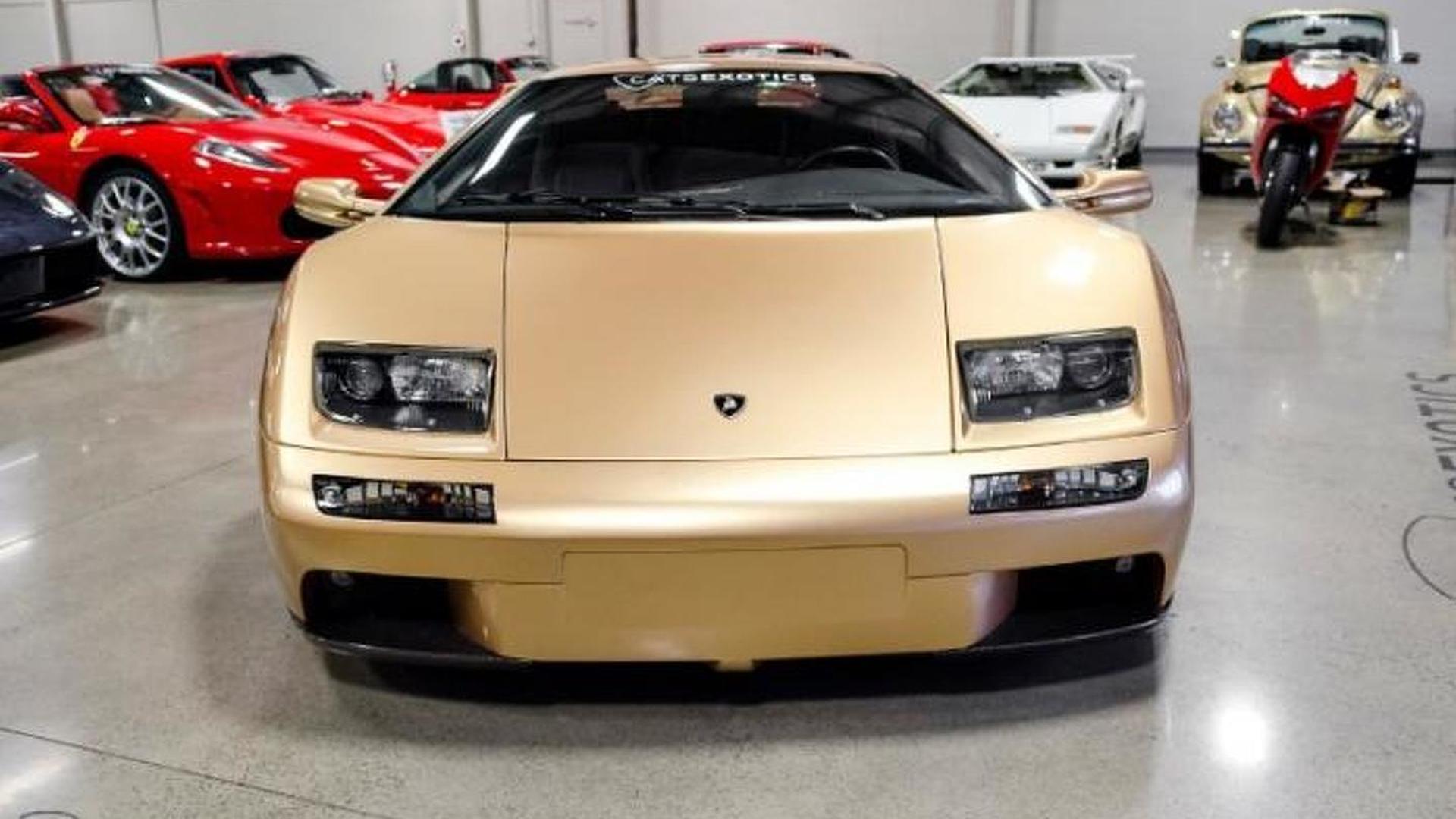 Lamborghini Diablo цвета Oro Elios