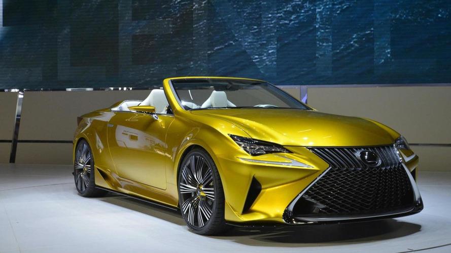 Lexus RC Convertible axed, three row crossover coming instead