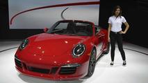 2015 Porsche 911 GTS at Los Angeles Auto Show