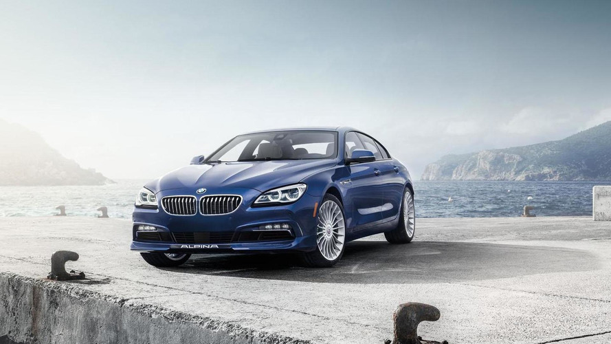 2016 BMW ALPINA B6 xDrive Gran Coupe unveiled with 600 bhp