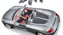 Carrera GT Bose loudspeaker distribution