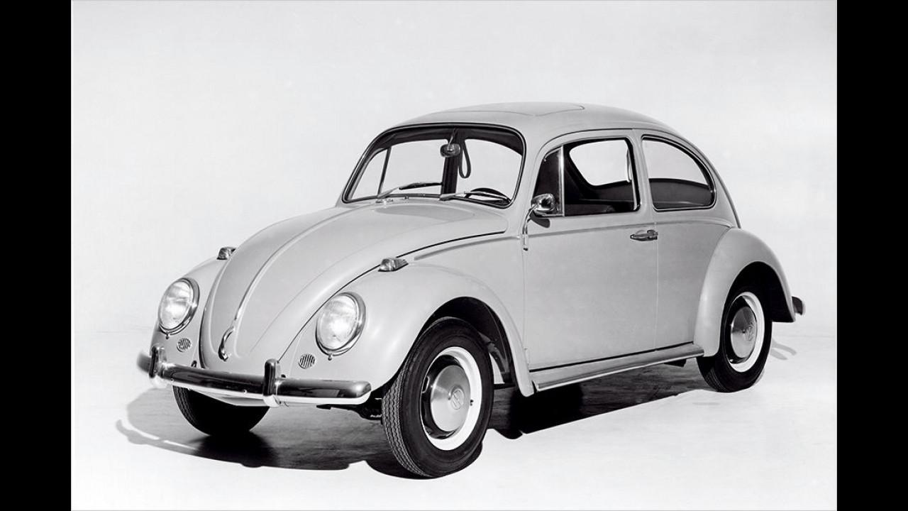 Platz neun seit 1999: VW Käfer 1300