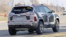 Refreshed Jeep Cherokee Trailhawk Spy Shots