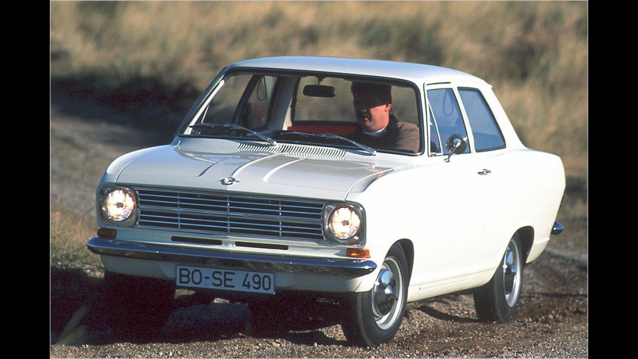 Opel Kadett: über 11 Millionen (1962 bis 1991)