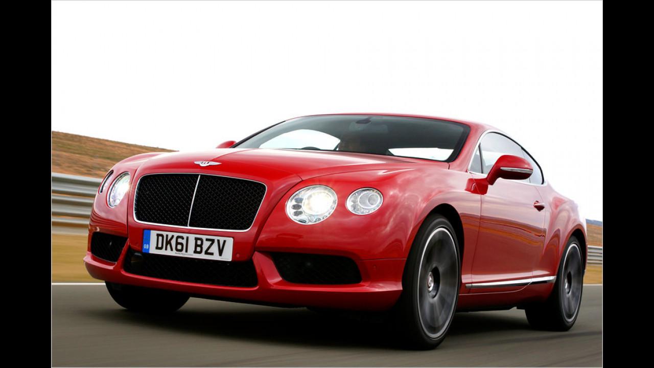 Bentley Continental GT: 318 km/h