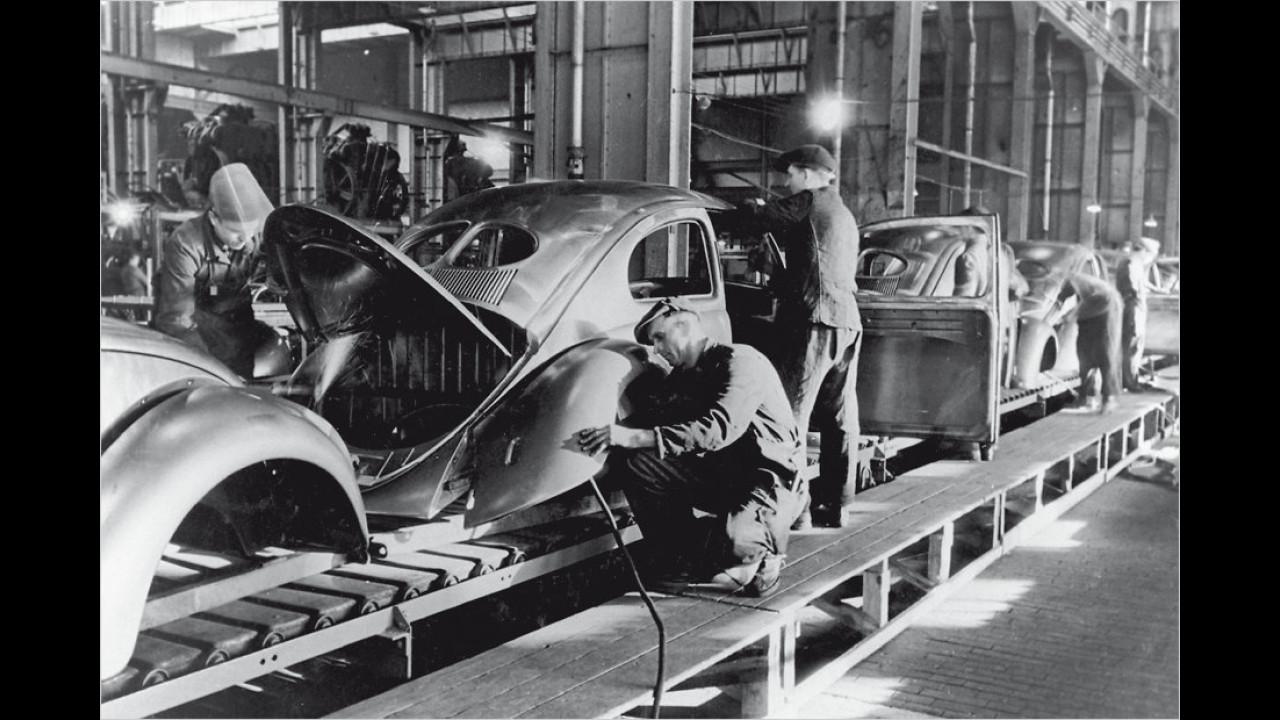 Produktion in Wolfsburg