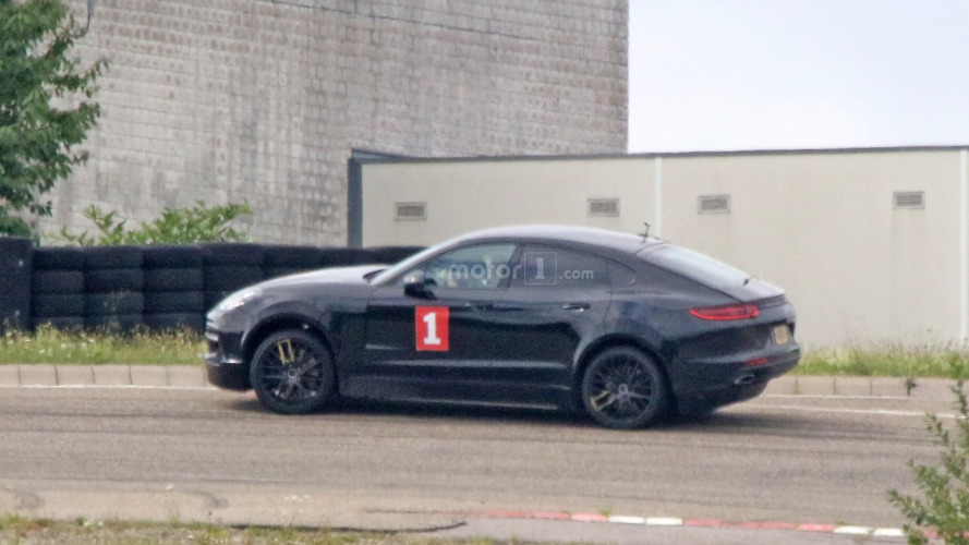 Recently-spotted Porsche Cayenne Coupe is actually an EV mule