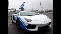 Lamborghini Aventador Dreamliner Edition celebra parceria com a Boeing