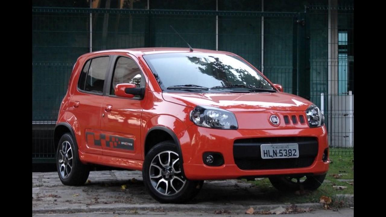 Fiat lidera no primeiro trimestre e Siena é o sedã mais vendido