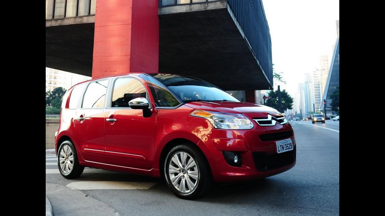 Novo Citroën C3 Picasso: primeira foto oficial é divulgada