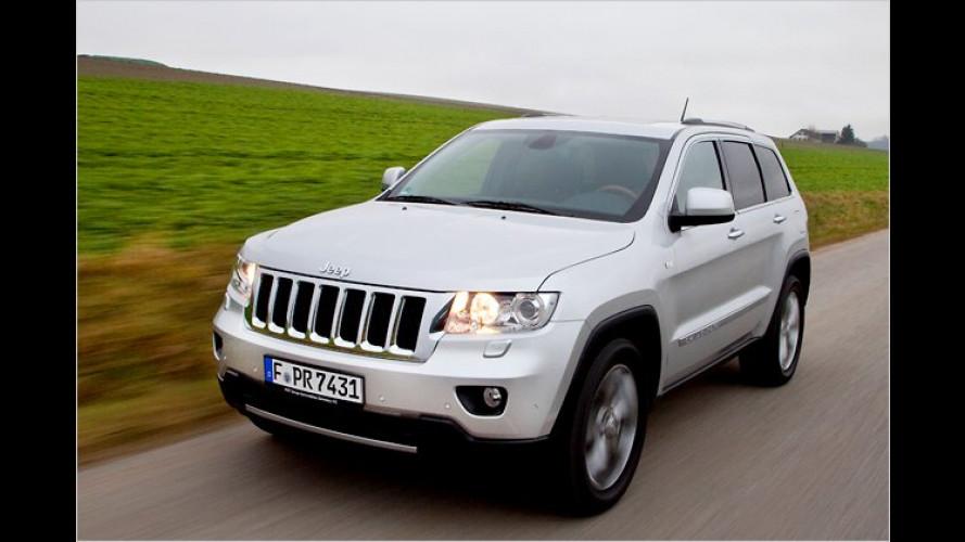 Der neue Jeep Grand Cherokee im Test: Fein gemacht