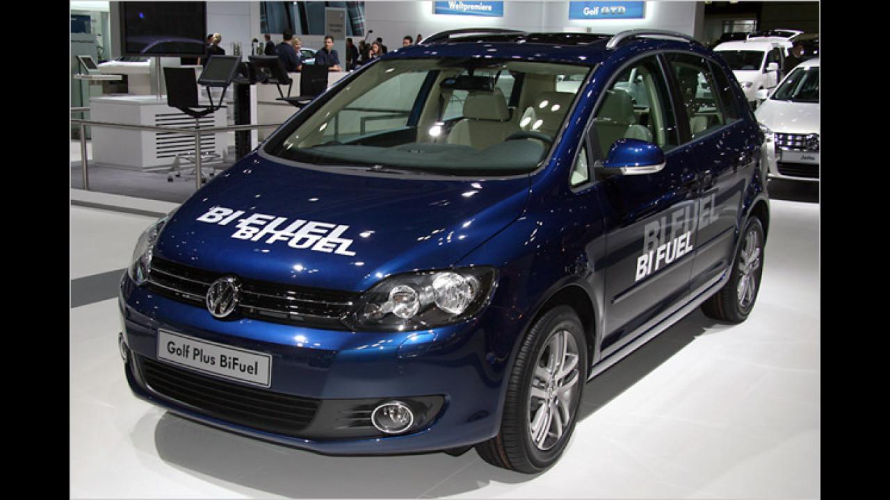 VW Golf Plus Bi-Fuel