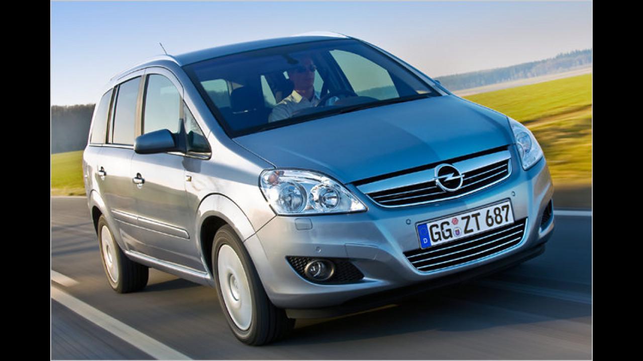 Opel Zafira 1.7 CDTI ecoFlex Selection