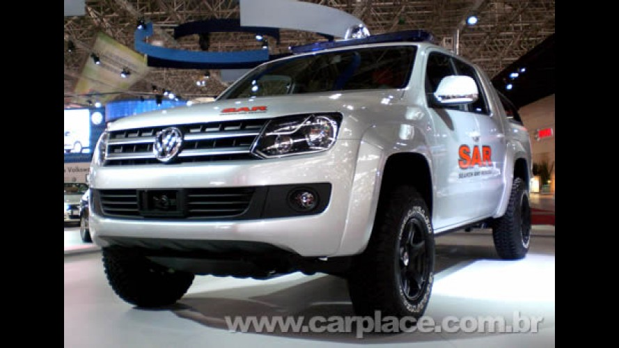 Salão do Automóvel 2008 - Nova Pick-up Robust da VW chega ao Brasil em 2009