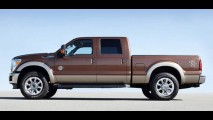 Ford apresenta nova F-Super Duty 2011 com motores V8 Flex que rodam com Etanol (Álcool)