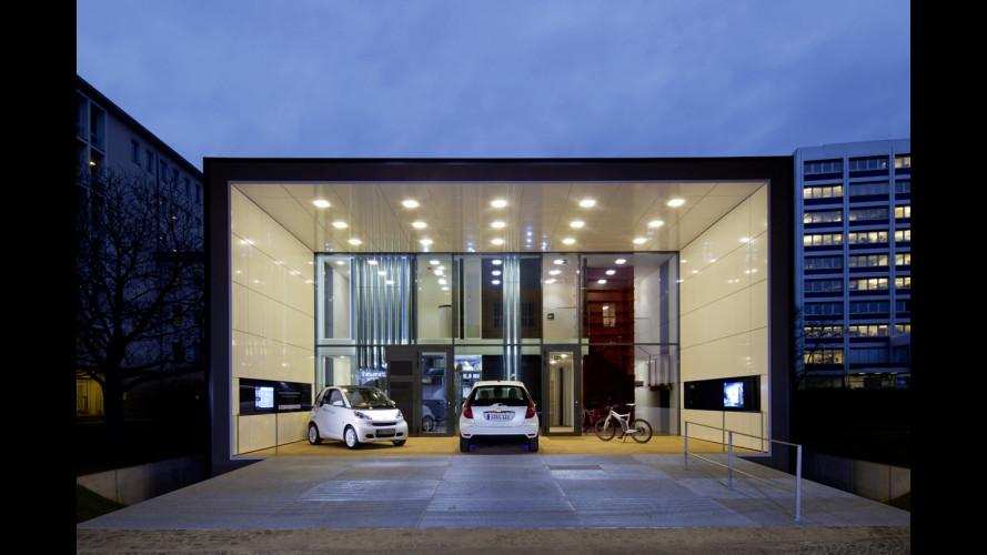 Le elettriche Daimler si ricaricano senza fili