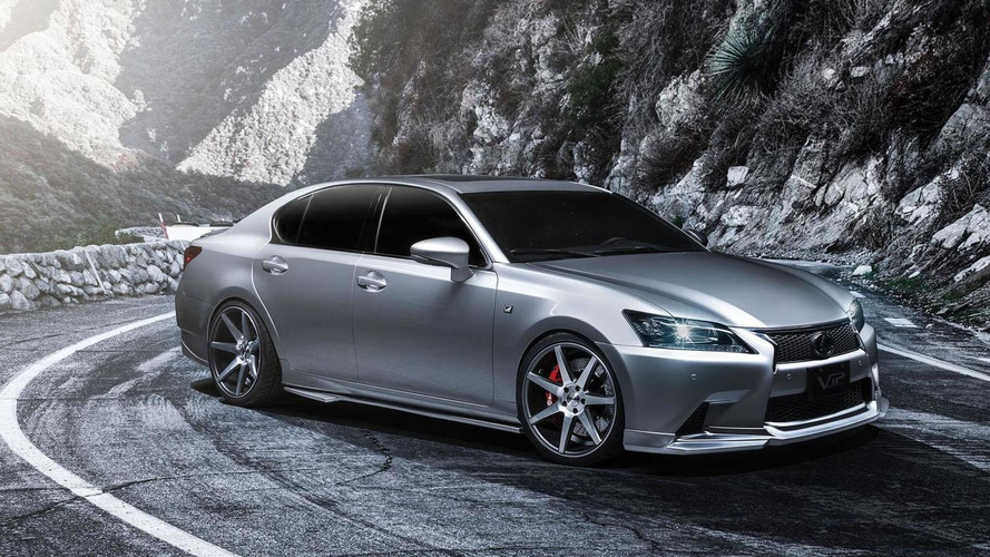 Lexus moves to trademark the GS F moniker