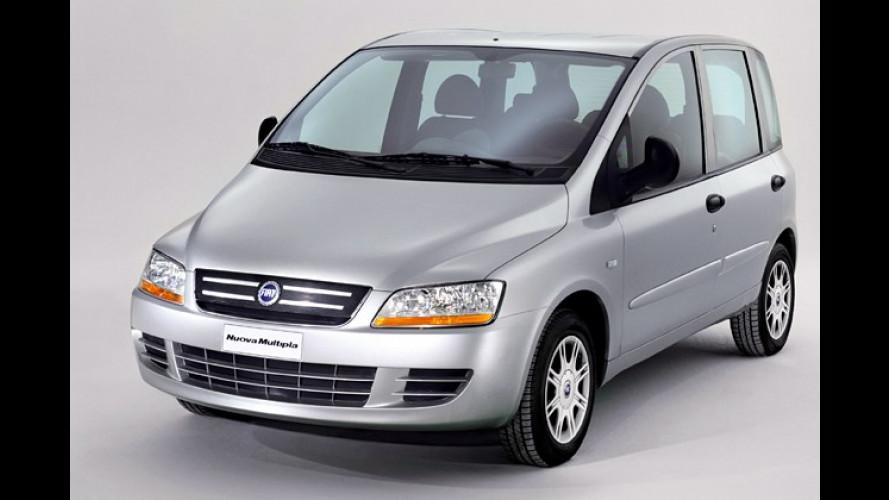 Fiat zeigt augenfreundlichere Version des Minivans Multipla