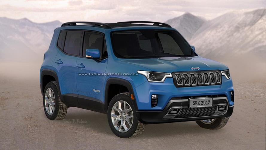 Un premier rendu pour le futur Jeep Renegade restylé
