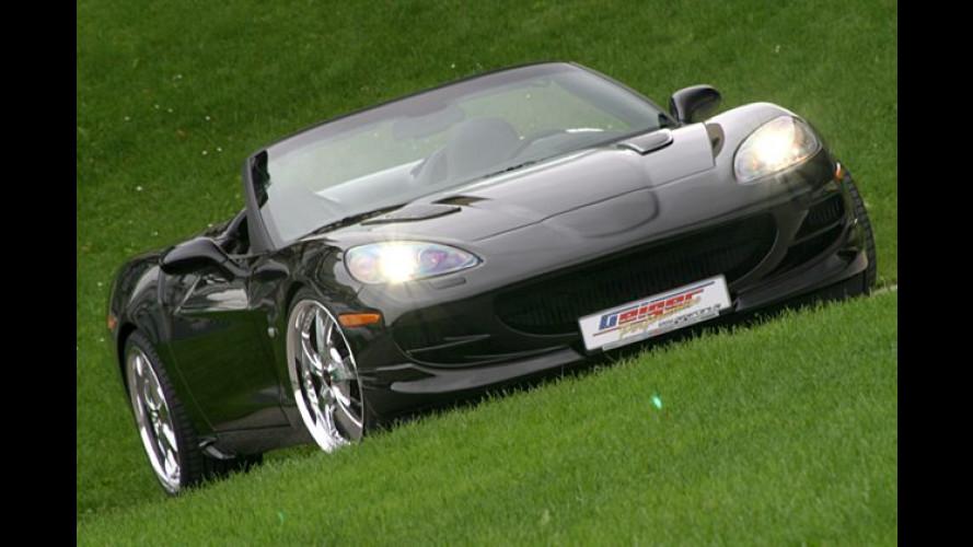 Schneller, weiter, höher: Corvette C6 von Geiger Cars