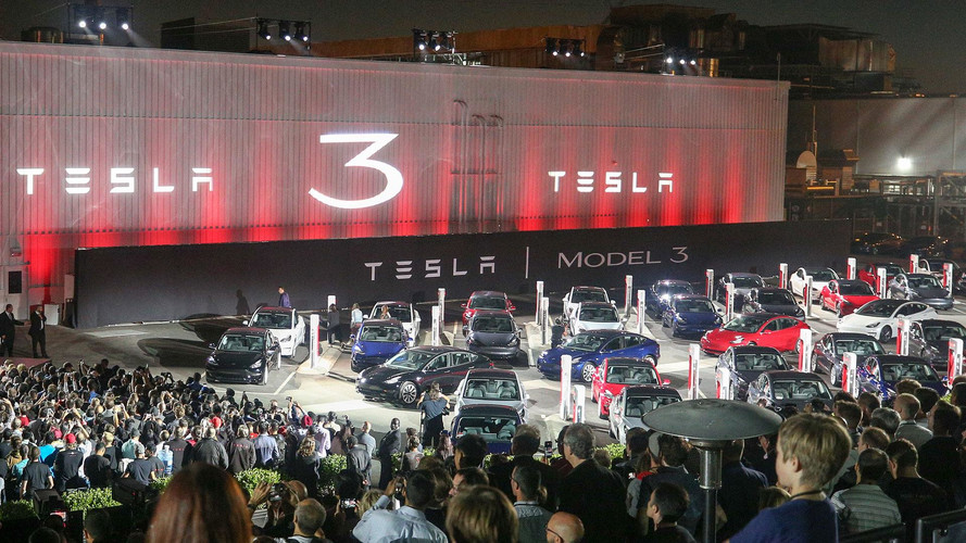 Exclusive Impressions: Behind The Scenes Of Tesla Model 3 Event