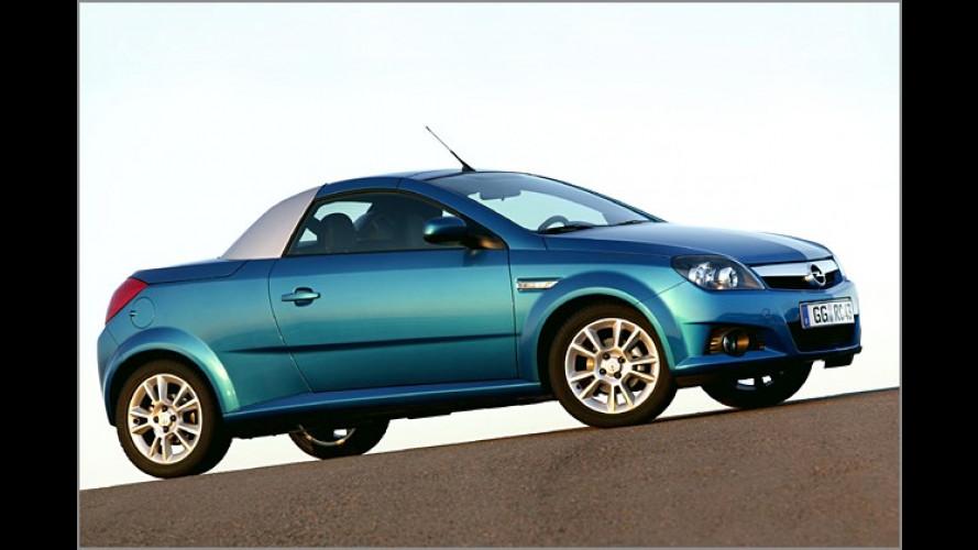 Sensation von Opel: Kleines Roadster-Coupé Tigra Twintop