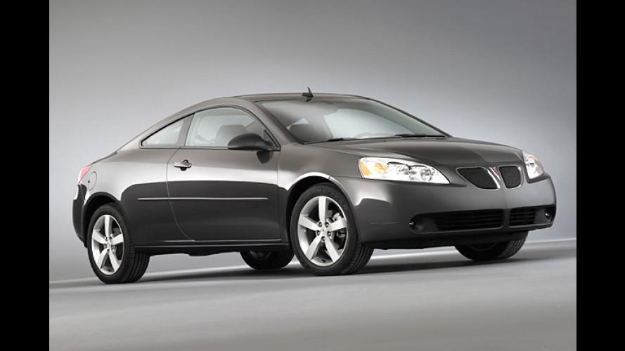 Pontiac G6: Die Limousine bekommt zwei Brüder