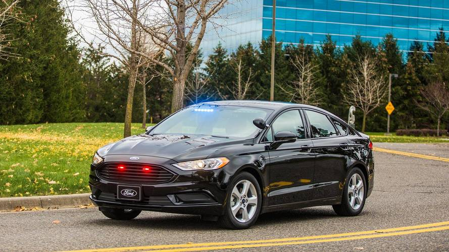 Ford's Latest Police Vehicle Plugs In To Boost Efficiency
