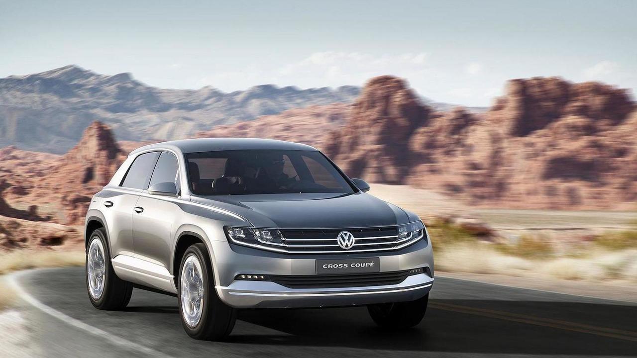 Volkswagen Cross Coupe Concept 29.11.2011