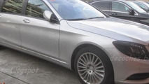 2014 Mercedes-Benz XL spied as a plug-in hybrid